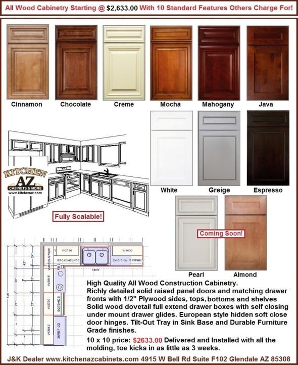 Kitchen Cabinets Phoenix Area: Phoenix AZ Kitchen And Bathroom Remodeling