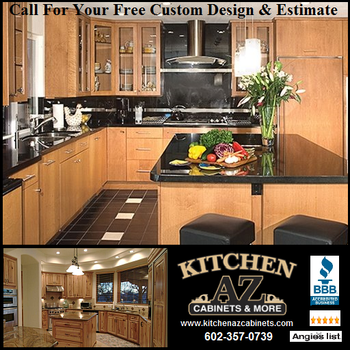 Home remodeling phoenix az kitchen and bathroom for Kitchen cabinets phoenix